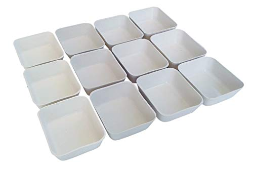 Nesha Design Components NDC Small Parts Sorting Organizing Trays (12pack)