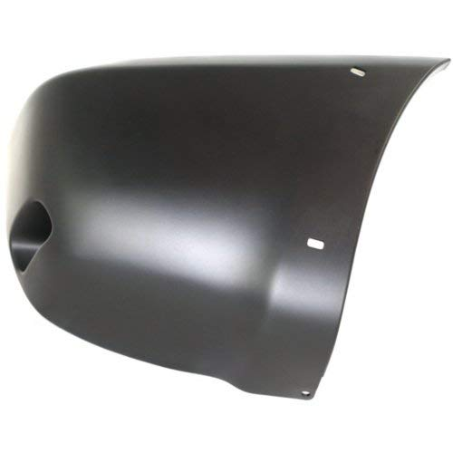 (Rear Bumper End Compatible with Toyota RAV4 2001-2005 RH with Wheel Opening Flare Hole Primed)