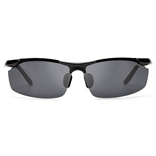 de para al de sol sol negro gafas hombres los libre de aire BOYOU gafas deportes YwPqSW5