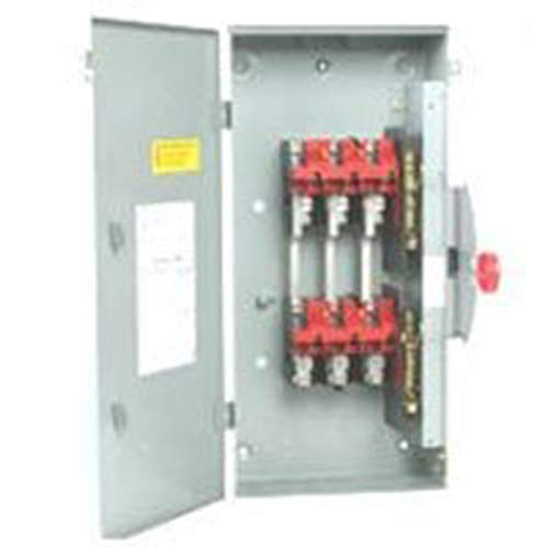 Eaton DT224URK-NPS 200-Amp Non-Fusible Metallic Safety Switch Double Throw (200 Amp 3 Phase Manual Transfer Switch)