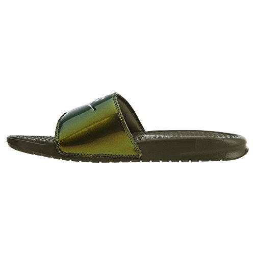 Nike Benassi Basta Stamparlo Mens Slide Medium Olive / White