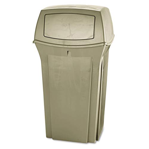 (RCP843088BG - Material : Structural Foam - Rubbermaid Commercial Ranger Fire-Safe Container - Each)