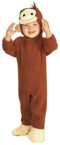 Party Animals Halloween Costumes - Curious George Costume, Monkey,