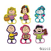 Sally Charlie Brown - Peanuts Easter Finger Puppets Snoopy, Charlie Brown, Sally, Lucy (6 Finger Puppets)