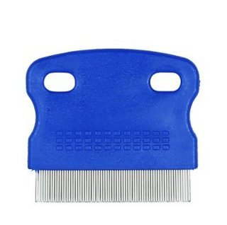 Pecute Flea Comb Durable Dog Puppy Cat Cleaning Comb Grooming Brush Tool Random Color