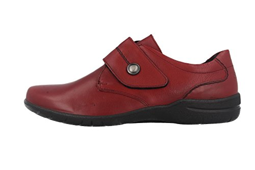 05 Fabienne Chaussons Josef Rouge Seibel Rouge Bas Femme Ogqxx87w