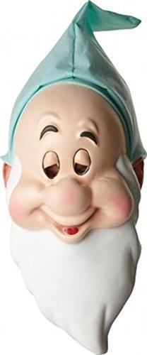 Disney Snow White & 7 Dwarfs Adults Fancy Party Halloween Licensed Sleepy Mask (7 Dwarfs Halloween Costume)