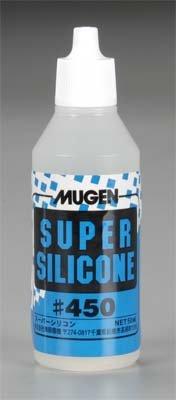 Mugen Seiki Racing B0332 450 Weight Super Silicone Shock Oil, 50ml