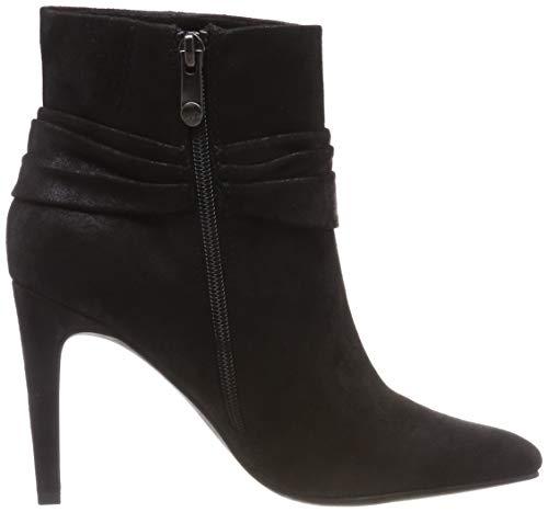 21 Marco Metallic Femme Botines black Tozzi 25348 033 Noir 6wAg1
