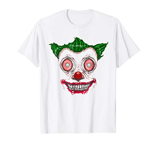 Freaky Freakin Clown Face, Fun Halloween Face Costume TShirt