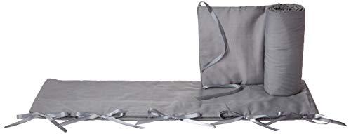 Jolly Jumper 3 Piece Soft Rail for Convertible Cribs, Gray