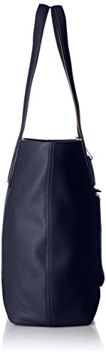 Navy Ladies Large Metropolitan Handbag Midnight Leather 72299 Tote Coach Pebble qY65CC