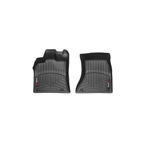 Nice 2009 - 2015 Audi Q5 Front Set - WeatherTech Custom Floor Mats Liners - Black hot sale