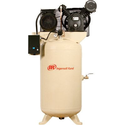 - Ingersoll Rand Type-30 Reciprocating Air Compressor - 7.5 Hp, 460 Volt 3 Phase, Model# 2475N7.5-V