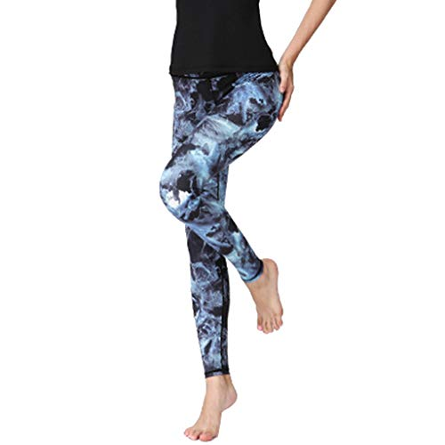 Jeans for Women Plus Size,UOKNICE Birthday Gift Women Fashion Printed High-Waist Hip Stretch Running Fitness Yoga Pants