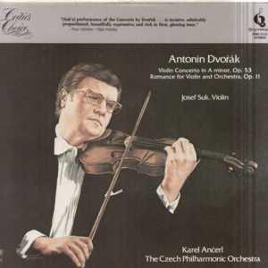 Dvorak-Violin Concerto In A Minor Op53 --- Czech Pilharmonic / Karel Ancerl / Josef Suk Violin