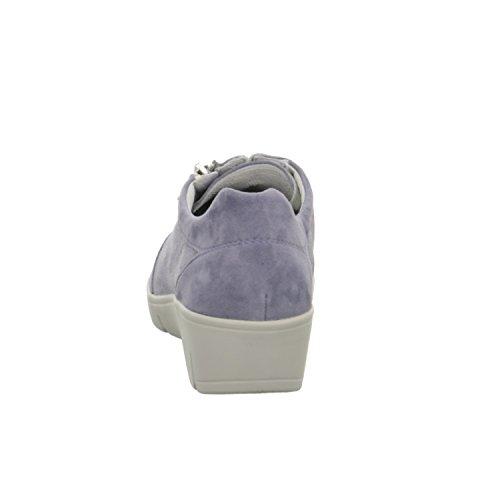 J7085 femme Bleu à Semler lacets pour ville Chaussures de PTwzxfqd