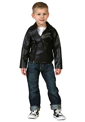 Kid Grease Halloween Costumes (Toddler Grease T-Birds Jacket Costume - 18mo)