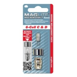 Mag Instrument (MAGLMXA601) 6 cell MAG-NUM Star II Xenon Replacement ()