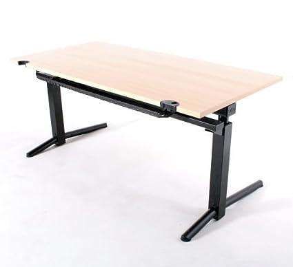 Oka escritorio B 160 x 80 x 72 cm, usadas Oficina Muebles: Amazon ...