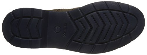 Geox U Garret A - Zapatos de cordones derby Hombre Verde (Olive)