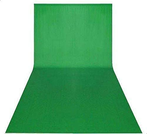 COOPIC 3x3m Green Non-woven fabric Photo Photography Backdrop Background Cloth 10x10ft