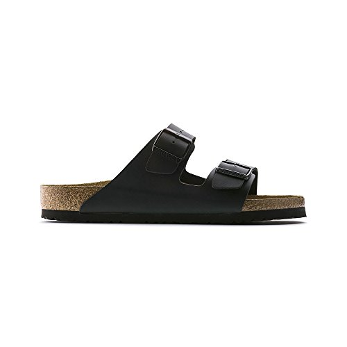 Birkenstock Unisex Arizona Black Sandals - 8-8.5 2A(N) US Women by Birkenstock