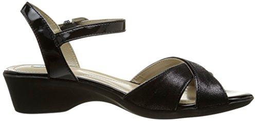 Geox D New Coral C - Sandalias de vestir Mujer Negro - Noir (C9999)