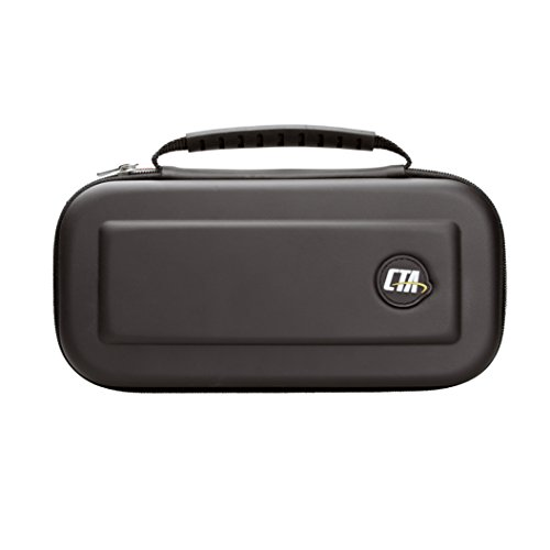 CTA Digital Hard-shell EVA Travel Case for Nintendo Switch (Smooth) by CTA Digital
