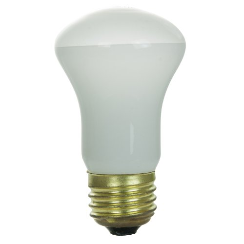Frost Flood Incandescent Light Bulb (Sunlite 40R16/FL Incandescent 40-Watt, Medium Based, R16 Reflector Bulb, Frost)