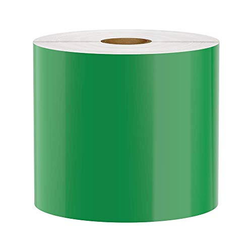 Premium Vinyl Label Tape for DuraLabel, LabelTac, SafetyPro and Others, Green, 4
