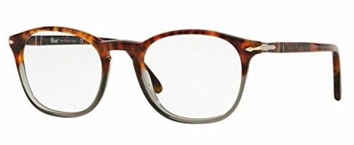 - Persol PO3007V Eyeglasses - 1023 Fuoco E Ardesia - 48mm