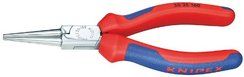 - Knipex 3035160, 6 1/4-Inch Long Round Nose Pliers with Comfort Grip