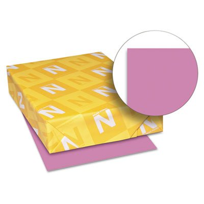 Astrobrights Colored Card Stock, 65 lb, 8-1/2 x 11, Outrageous Orchid, 250 Shts, Sold as 250 Sheet