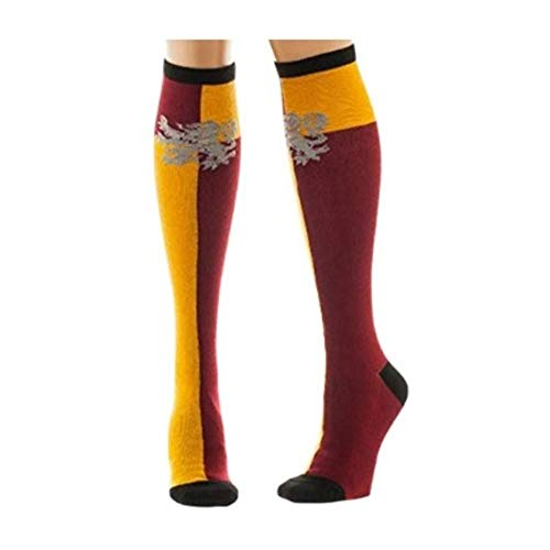 Harry Potter Gryffindor Crest Knee High Socks (The Kingdom Of The Yellow Robe)