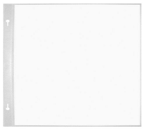 Pioneer White Refill Pages for 8 Inch by 8 Inch Memory Books