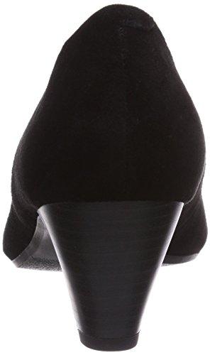 1 mujer de cuero negro Shoes zapatos Marc cerrados 32 407 de black 100 100 Schwarz 07 Marita tacón B5xwOUqR