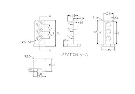 JTD26 10 Stk Signale LED rot//gelb//grün DIY Dwarf Zwergsignale Spur 1// 0 NEU