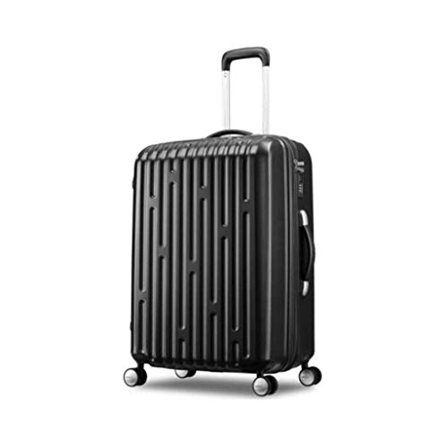 (Jstyal968 Yalztc-zyq16 Travel Trolley case, Business Boarding Travel Induction Box 20/26 inches (Color : Black, Size : 20in))