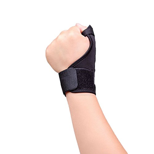 Broken or sprained thumb symptoms