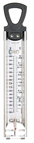 - Kitchen Craft Deluxe Cooking Thermometer, Stainless Steel