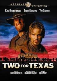book cover of Two for Texas