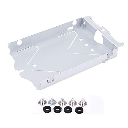 (Replacement Internal Hard Disk Drive HDD Caddy Mounting Bracket Base Tray Support Holder with Screws for Playstation 4 PS4 CUH-1200)