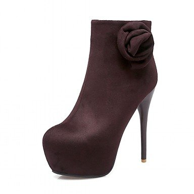 Dress Fall amp;Amp; Evening Winter Spring RTRY amp;Amp; US12 Leather Women'S Casual Platform Office Career Novelty EU44 Leatherette Boots Comfort UK10 CN46 Wedding Patent Party qUpUZt