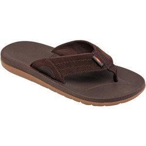 Rainbow Sandals Men's East Cape Molded Rubber Sandal, Dark Brown, Men's 13 D(M) ()