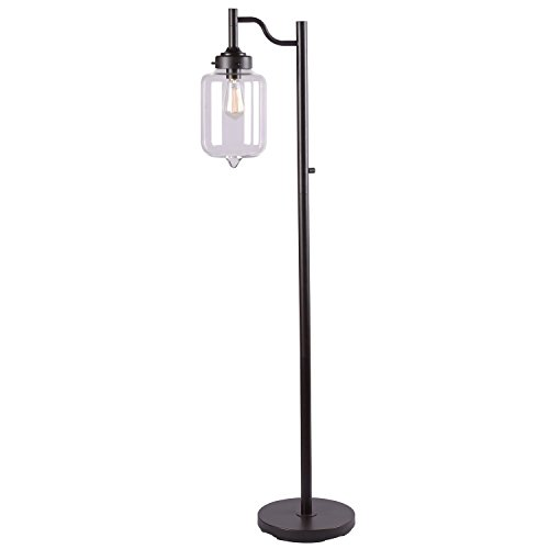 Kenroy Home 32408ORB Casey Floor Lamp, Oil Rubbed Bronze Finish, Oil Rubbed Bronze Finish
