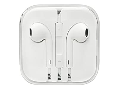 Apple MD827LL/A EarPods with Remote and Mic - Standard Packaging - White by Apple