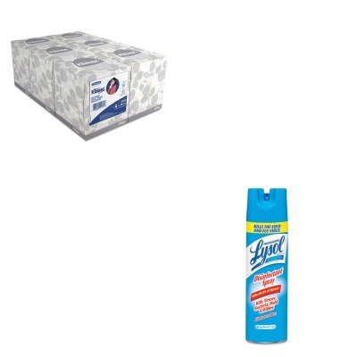 KITKIM21271RAC76075EA - Value Kit - Professional LYSOL Brand Disinfectant Spray (RAC76075EA) and KIMBERLY CLARK KLEENEX White Facial Tissue (KIM21271) by Lysol