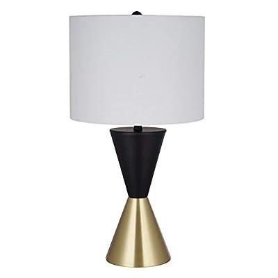 "Rivet Modern Bow Tie Floor Lamp Floor Lamp, 17.4""H, Color"