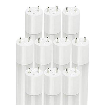 Sunlite 41332-SU LED T8 Lightbulb Dual End Bypass Bulb, 2 Foot, 9 Watts, 1100 Lumens, Frost, Medium Bi-Pin Base (G13), UL Listed